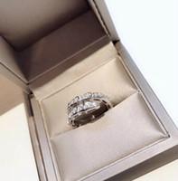 кольца для серебра оптовых-Designer Serpenti series Diamond CZ Ring women 925 sterling silver narrow snake opening adjustable smart rings
