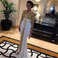 белое золото кафтан оптовых-2019 блестки шифоновые вечерние платья с блестками кафтан вечерние платья абая в дубае с белым шлейфом платье кафтан марокканский кафтан