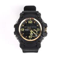gg relojes al por mayor-Marca de los hombres deportes reloj de pulsera deportivo deporte cronógrafo reloj resistente a los golpes Masculino GG-1000 Casual Relojes electrónicos de calidad superior
