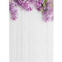 Wholesale flowers studios background for sale - Group buy 5x7FT Vinyl Custom Photography Backdrops Prop digital printed Flower and Wood Planks theme Photo Studio Background NY