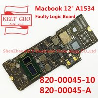 placa lógica macbook venda por atacado-820-00045-10 820-00045-A defeituosa Logic Board 820-00045 Para Macbook 12