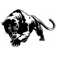 auto stoßfänger grafik großhandel-Auto Seite Aufkleber Panther Tribal Vinyl Grafik Aufkleber Vinyl Hobby Bumper Sticker Car Styling Car Sticker