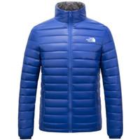 ultralight down parkas men toptan satış-Yeni Kışlık açık Erkek giyimi Aşağı ceketler fermuarlı paltolar ultralight sıcak hava sporları montları giymek Kışlık dış giyim Ceketler Parkas
