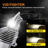 Wholesale 55w led headlight bulbs for sale - Group buy 2PCS Car LED H4 Bulbs Motorcycle Headlight W V V K Super Led head light lamp