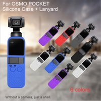 Wholesale osmo pocket for sale - Group buy For DJI OSMO Pocket Handheld Gimbal Camera Soft Silicone Case Cover Skin Housing Shell Skid proof Gimbal Accessories Candy Color6 colors to