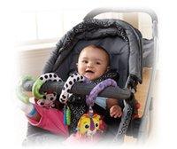 ingrosso passeggino per bambini giocattolo-La neonata sconcerta i giocattoli svegli della bambola del passeggino che passa la campana scoppia i giocattoli della peluche per i regali dei ragazzi della ragazza dei bambini
