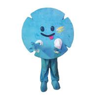 trajes por encargo para la venta al por mayor-2019 venta caliente del juguete del copo de nieve mascota personaje de dibujos animados traje productos personalizados por encargo envío gratis