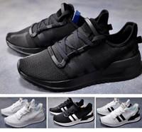 ingrosso calzature estive a maglia-2019 Tubular Shadow Knit 2 X PLR Sneaker Summer Breathe Mesh Scarpe da corsa da uomo per donna Moda sportiva tutto nero bianco
