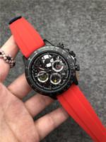 movimientos de cuarzo para relojes. al por mayor-Reloj de hombre multifunción, multicolor, marca de alta calidad, movimiento de cuarzo de lujo, reloj deportivo, relojes militares