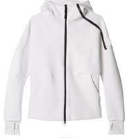 kadınlar için yeni moda pantolon toptan satış-2019 yeni marka Z. N. E hoody erkek spor Takım Elbise Siyah Beyaz Eşofman kapüşonlu ceket Erkek / kadın Rüzgarlık Fermuar sportwear