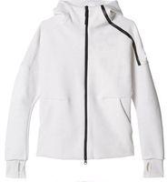 спортивные бренды оптовых-2019 новый бренд Z.N.E толстовки мужские спортивные костюмы Черно-белые спортивные куртки с капюшоном Мужчины / женщины ветровка молния спортивной одежды Мода ZNE толстовка