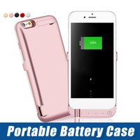 Wholesale slim 5.5 inch phones resale online - For iPhone7 P Slim mAh Battery Charger Case Charging Cover Backup Charger Power Banks inch Smart Phone
