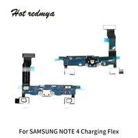 примечание зарядка flex оптовых-USB Flex Зарядное Устройство Док-Порт Flex Кабель Запчасти для Samsung Galaxy Note3 N9005 Примечание 4 N910 Бесплатная Доставка