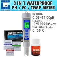Wholesale multi ph meter for sale - Group buy WQM pH EC Temperature Meter ATC in Waterproof Pen Type Water Quality Combo Multi Parameter Tester Monitor Analyzer Acidometer