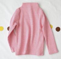 mädchen oberhemd großhandel-2019 Im Herbst Das Mädchen übertragen unliniertes oberes Kleid Langarm Baumwoll-T-Shirt Art und Weise Kinder Kleidung der neuen Art