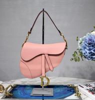 Wholesale womens high fashion handbag for sale - High quality brand fashion luxury designer handbag new womens saddle bag ladies shoulder bag wallet