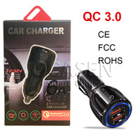 Wholesale tablets for sales for sale - Group buy Hot Sale Car Charger V A Quick Charge Dual USB Fast Charging For iPhone Samsung Huawei Xiaomi Moto Tablet With Retail Package