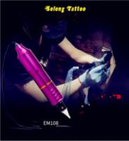 mini tatuaje suministro al por mayor-La nueva máquina de tatuaje de motor de una pieza profesional de aleación de aluminio de alta calidad suministra suministros de tatuaje vertical