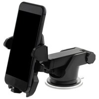 Wholesale car phone holder window universal online – New Universal Mobile Car Phone Holder Degree Adjustable Window Windshield Dashboard Holder Stand For All Cellphone GPS Holders