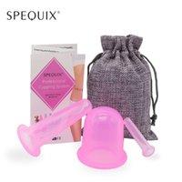 conjunto de face cupping venda por atacado-Vacuum 3PCS Massagem Cupping copos cheios BodyFace chinês Terapia Cupping Set Para Anti-Celulite alívio da dor