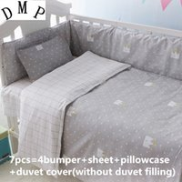Wholesale embroidered crib bedding for sale - Group buy Promotion Cot Crib Bedding Sets Baby Set Embroidered cm