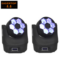 Wholesale stage lighting head 15w for sale - Group buy TIPTOP Professional Mini B Eye Beam Moving Head Light W High Power W RGBW in1 Led Stage Lighting DMX Channels TP L671