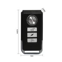 wasserdichte drahtlose vibration großhandel-Neue 113dB Wireless Anti-Theft Vibration Motorrad Fahrrad wasserdichte Sicherheit Fahrrad Alarm mit Fernbedienung Fahrrad Zubehör # 233966