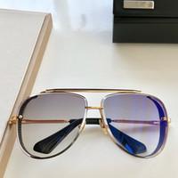 montures de lunettes violet titane femmes achat en gros de-2019Brand Lunettes de soleil en métal de haute qualité Lunettes de soleil homme Lunettes Hinge femmes Des lunettes de soleil lentille UV400 unisexe avec des cas et box8