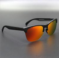 frösche sonnenbrille großhandel-Neue Marke Froschhaut Sonnenbrillen TR90 UV400 Sport Sonnenbrillen Polarisierte Radsportbrille Mode Radfahren Eyewear 9374
