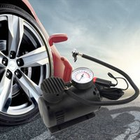 Wholesale portable car tire pump for sale - Group buy Drop Ship Portable V Auto Tire Infaltor Pump PSI Car Electric Air Compressor V Best