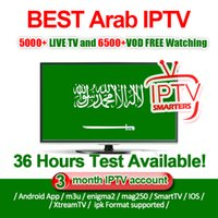 Wholesale arabic iptv subscription online - IPTV Smarters Service IPTV Subscription for Android TV Box Europe Sweden Arabic French Italy Germany UK Adult xxx M3U Enigma2 Mag Smart TV
