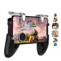 ingrosso giochi joystick android-PUBG Game Controller per PUBG Mobile Trigger per Android iphone Gamepad Puntatore L1R1 Joystick