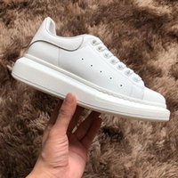 Wholesale leather girls show resale online - Black Casual Shoes Lace Up Designer Comfort Pretty Girl Women Sneakers Race Leather Shoes Men Womens Sneakers Star Show Oversized Platform
