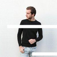 ingrosso maglioni di marca migliori-Commercio all'ingrosso 2017 nuovo best-seller di fascia alta moda casual girocollo da uomo maglione polo marchio 100% cotone pullover maglione da uomo fre