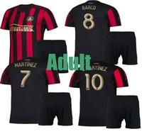 kits juveniles al por mayor-Kit para niños adultos 2019 2020 MLS Parley Atlanta United FC camiseta G.MARTINEZ MARTINEZ camisetas de fútbol local 19 20 camisetas de fútbol de BARCO juvenil