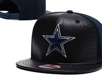 New Arrival Dallas Snapback Hats Leather Black Color Embroidered Logo Brand  Sports Cowboys Foot Ball Adjustable Caps Fashion Raiders Hat 11988de6b