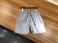 panneaux étanches achat en gros de-2019 tissu imperméable en gros d'été hommes shorts marque vêtements maillots de bain en nylon pantalons de plage shorts de natation shorts de sport