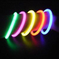 Wholesale wand novelty toy for sale - Group buy 20cm Glow Stick Bracelet Necklaces Multi Color Party Light Stick Wand Novelty Toy party stage decor Concert colorful Flash props FFA2075