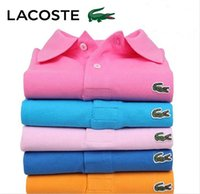 xxxl chemises de golf achat en gros de-Nouveau 2019 Mens Polo Shirts Hommes Desiger Polos Hommes Crocodile Broderie Coton À Manches Courtes Shirt Vêtements Golf Tennis Polos Grande Taille S-5XL
