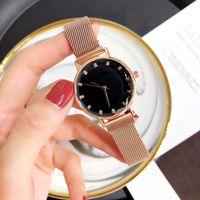 ingrosso la migliore marca orologi per le donne-Orologi da donna di lusso AAA Famous Brand Fashion Casual acciaio inossidabile di alta qualità orologio al quarzo giapponese Miglior regalo di San Valentino