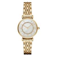 bracelets de montre en plastique achat en gros de-Livraison de baisse AR1907 AR1908 AR1909 AR1925 AR1926 Top qualité femmes montres à quartz en acier inoxydable montre de mode montres-bracelets