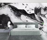 ingrosso carte da parati uccelli-[Autoadesivo] 3D Ink Painted Bird 176589 Carta da parati murale Stampa murale Adesivi murali