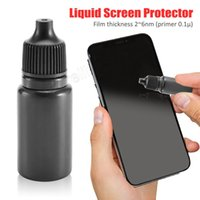 apfel iphone 4s blau großhandel-Universal Liquid Screen Protector Nano Schutzfolie Sterilisation Anti-Blue-Ray 5ml Displayschutzfolien Dropship 8.22