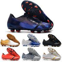 calzado deportivo para hombre al por mayor-Botines de fútbol para hombre Hypervenom Phantom III EA Sports FG zapatos de fútbol de tierra suave botas de fútbol baratas Rising Fast Pack botas neymar 39-45