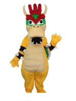 personagens profissionais venda por atacado-2019 Profissional de alta qualidade personalizado kuba Charizard Traje Da Mascote Super Mario Dragão Dinossauro Caráter Roupas