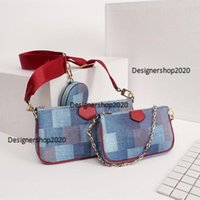 Wholesale new style handbags prices for sale - Group buy Designer leather bags three bags one price multiple use style fashion woman handbags New luxury bag model M44823