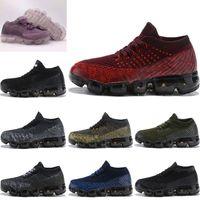 bebek kızı mor top toptan satış-Nike Air VaporMax Plus Bebek Çocuk Ayakkabıları 2018 Koşu Ayakkabıları Çocuk Atletik Ayakkabılar Erkek Kız Eğitim Spor Sneakers Siyah Beyaz Gri Turuncu Mor