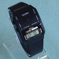konuşan saatler toptan satış-Görme Engelli ve Yaşlı Dijital Spor Kol Saati İçin İspanyolca Konuşan Saat (716US-TS)
