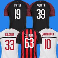 Wholesale ac milan jersey online - AC milan soccer jersey football shirt  HIGUAIN PAQUETA BORINI PIATEK 33f42639ecf2c