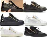 Wholesale box shoes size for sale - Group buy Fashion Designer Sneaker Men Women Arena Casual Shoes Genuine Zipper Race Runner Shoes Outdoors Trainers With Box big size